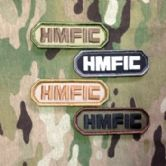 Mil-Spec Monkey Velcro Morale Patch HMFIC